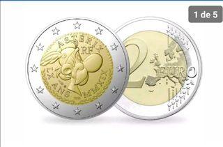 moneda de 2€ 2019 Asterix