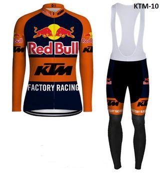 Equipación ciclismo térmica KTM-10 t. S,M,L,XL,XXL