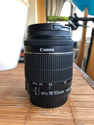 canon 18-55 mm f/3.5-5.6 IS STM