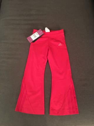 Pantalón chándal marca Adidas niña 3 años