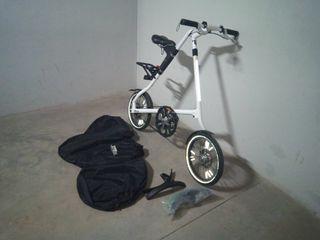 Strida bicicleta plegable diseño
