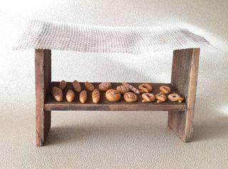 Tienda de pan para belén
