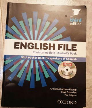ENGLISH FILE. Libro de inglés B1