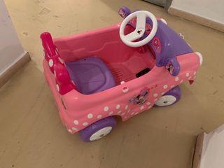 Coche Minnie Car 6V con radio control