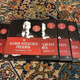 Serie dvd ALFRED HITCHCOCK PRESENTA 3 temporada