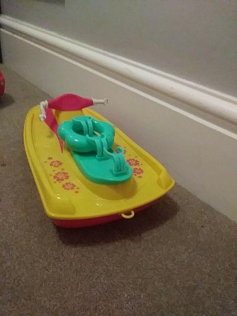 boat for dolls