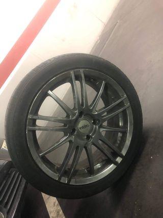 4 llantas de aleación con ruedas