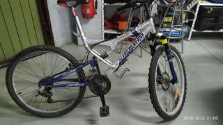 Bicicleta con rueda 24 pulgadas