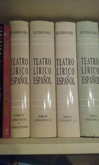 TEATRO LIRICO ESPAÑOL