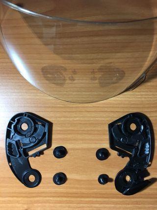 Visera Shoei CX-1 V con mecanismo