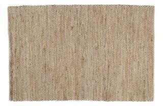 Alfombra de algodón y yute 160 x 230