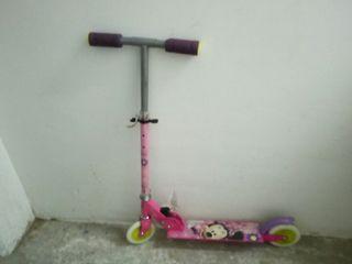 patinete infantil niña