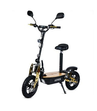 Aspide Madera - Patinete, Scooter Eléctrico 2000W