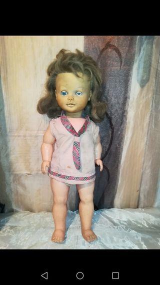 Antigua muñeca para restaurar 52cm
