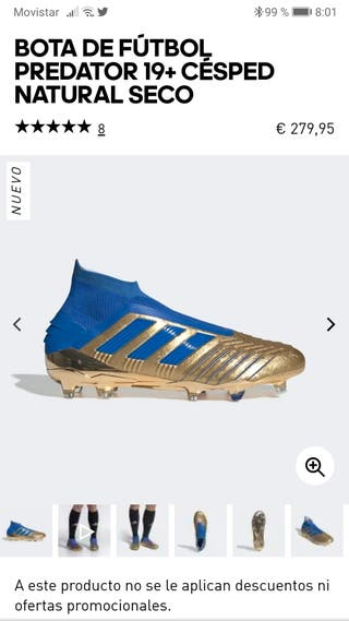Adidas Predator 19+ Nuevas