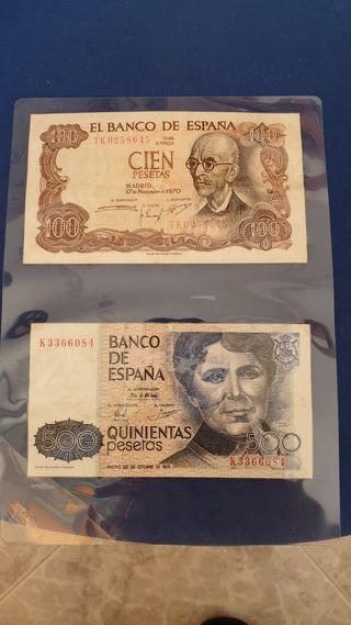 billetes auténticos