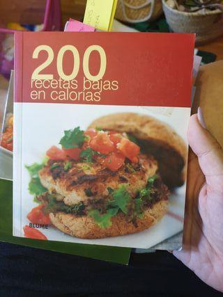 libro 200 recetas bajas en calorías