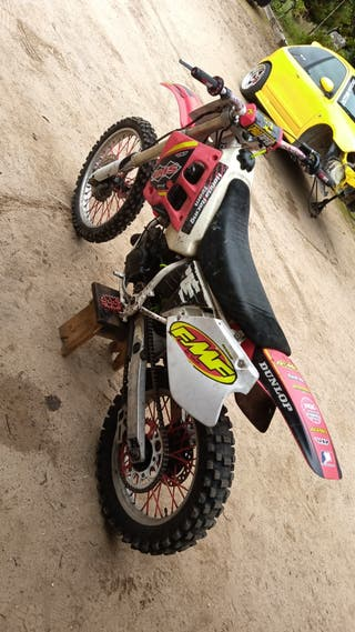 honda cr 125 moto cross