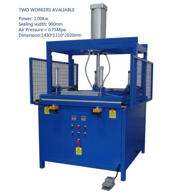 Maquina para el prensado y envasado cojines