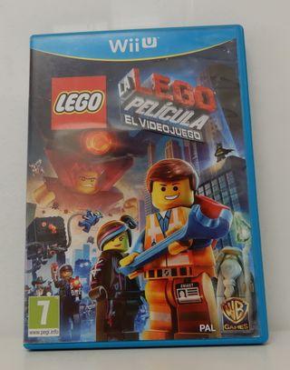 Juego Wii U: La Lego Película.