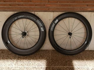 Ruedas bicicleta carretera Dt swiss ARC Dicut