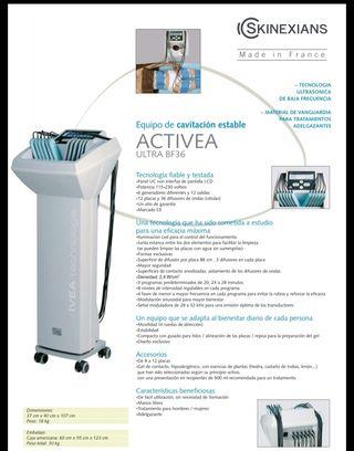 Cavitación manos libres/ laser lipolitico