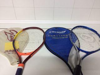 Raquetas de tenis y frontenis
