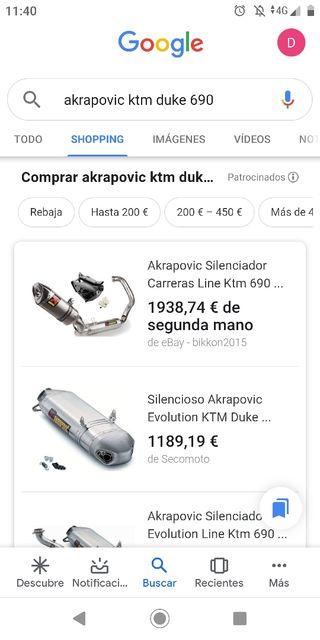 akrapovic KTM DUKE 690