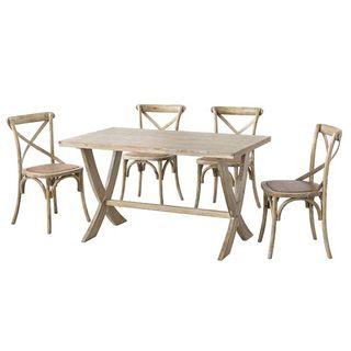 Mesa de comedor madera 135x80 NUEVA