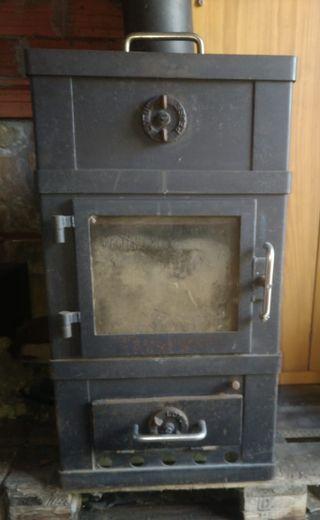 Estufa Nordica Danesa leña y carbón