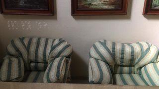 Sofá 3 plazas + 2 sillones