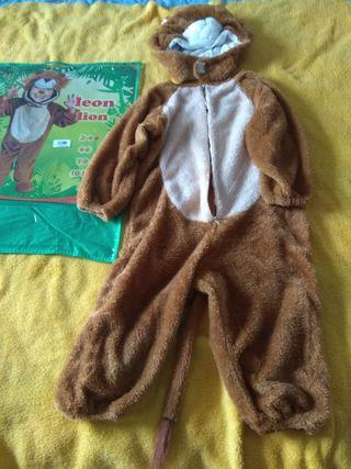 disfraz león niño, 4 años