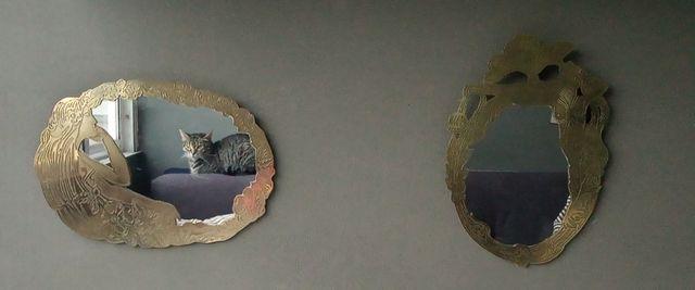 Espejos decorativo metal (20€ dos unidades)