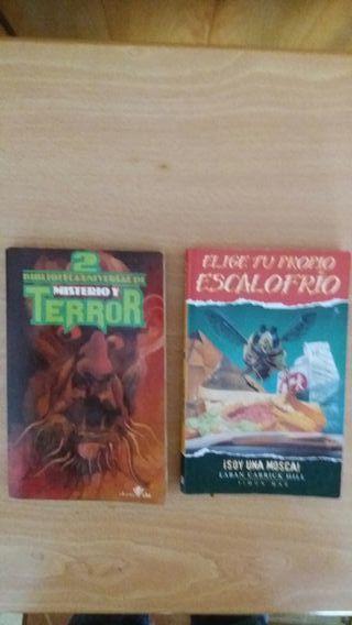 6 novelas de terror años 60-70.