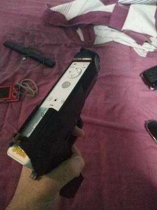 Carcasa mando Wii Pistola