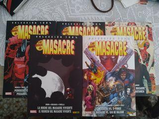 cómics masacre (deadpool)