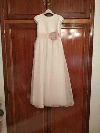 Vestido comunión Tizzas de segunda mano en Madrid en WALLAPOP