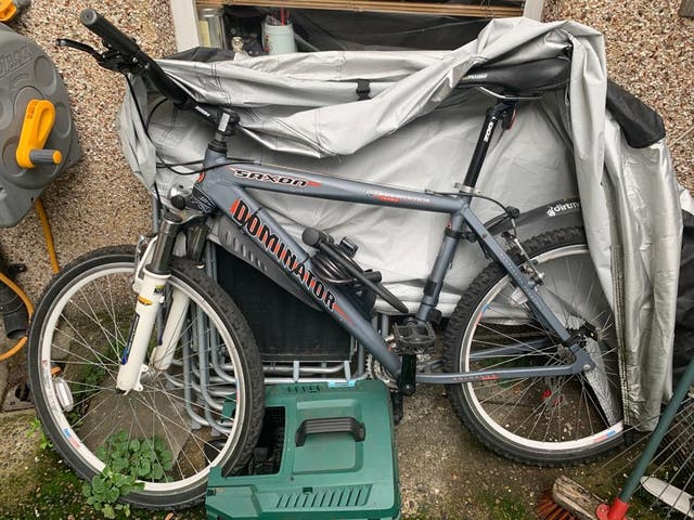 Bicicleta sin uso