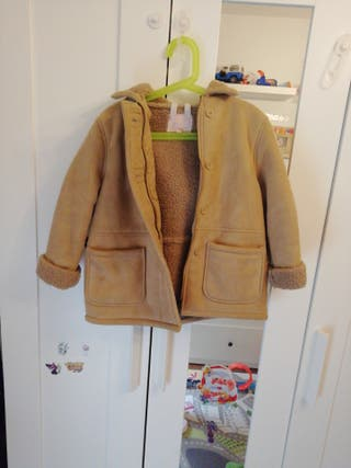 chaqueta gocco piel niño talla 6