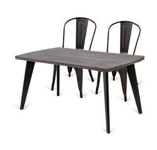 Mesa de comedor chapa de roble 150x90 NUEVA