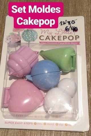 Set 5 Moldes Cake Pop