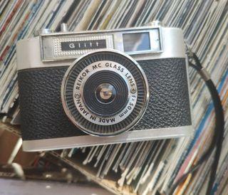 Cámara fotos analógica retro