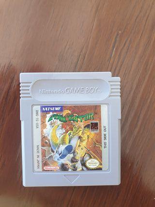 juego Tail Gator Game Boy