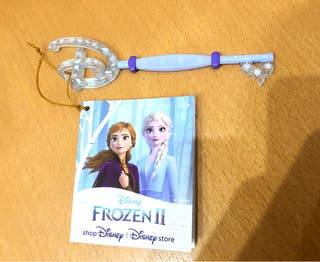 Llave Frozen 2 Disney Store limitada exclusiva