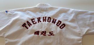 Dobok Taekwondo niño; talla 130 cm