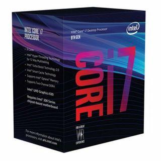 Procesador Intel 7 8700K