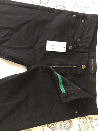 Pantalón vaquero negro de Purificación Garcia