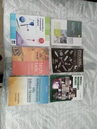 Vendo libros FP - Mecatronica Industrial