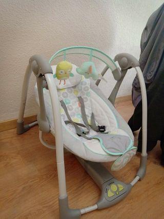 hamaca bebé, tumbona automática