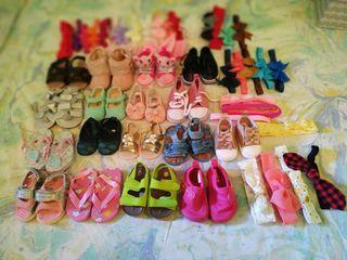 Lote d zapatos y felpas bebe